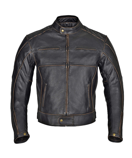 Men-Motorcycle-Armor-Leather-Jacket